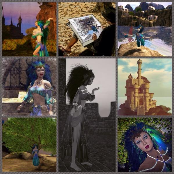 Eight Ways of Looking at the Bird Goddess