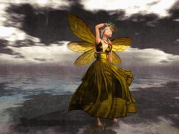 It began with rain, for the unpoetic reason