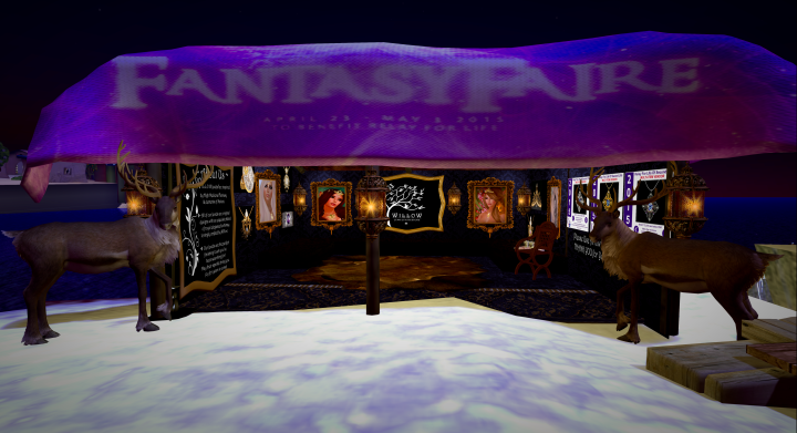 I was amazed to see she has a modest little stall in one of the Fairelands Realms.