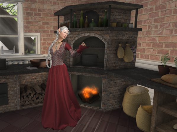 Would I have become a fae servant in my own kitchen? Serving some other Fae Queen?