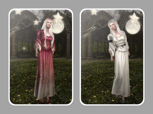 Here are the Rare dresses.