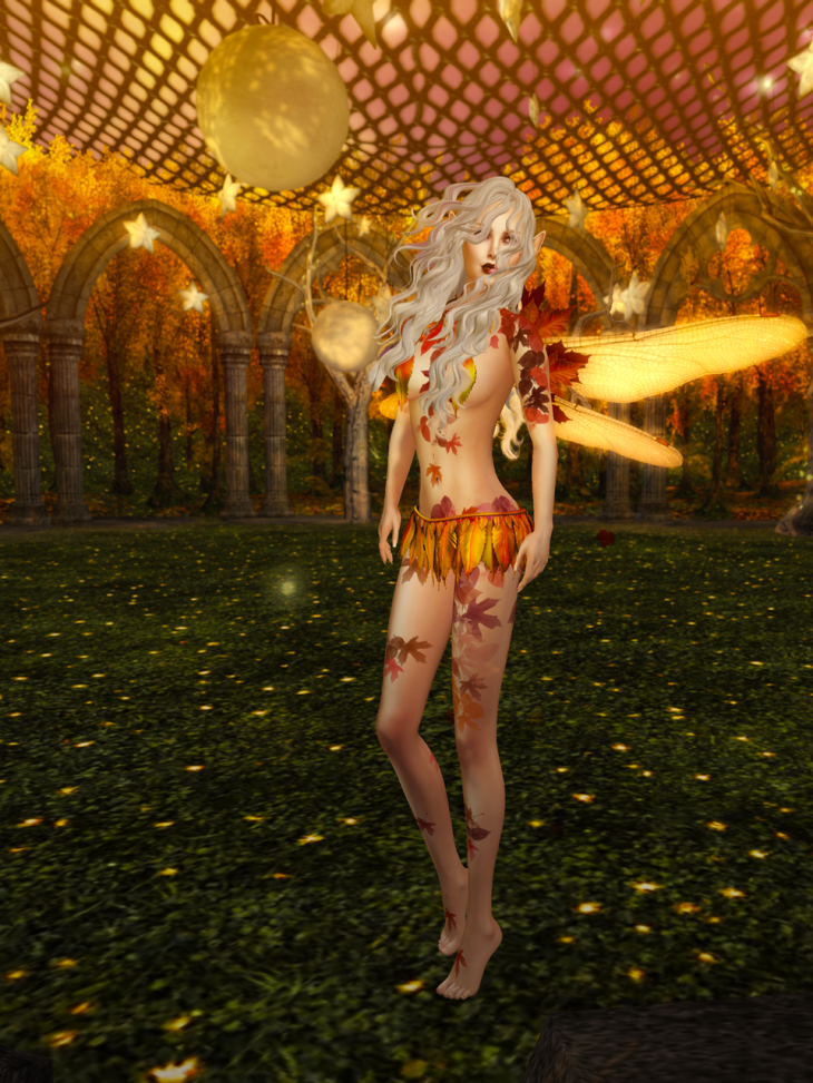 Shall I stand in autumn's sunlight, feel the fire catch my wings