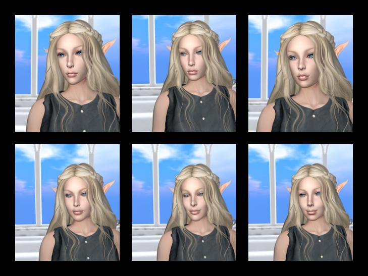 Catwa Head Comparison