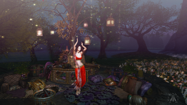 Dancing under the lantern tree BLOG - 1