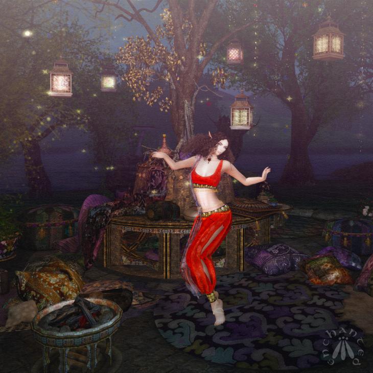 Dancing under the lantern tree BLOG - 3