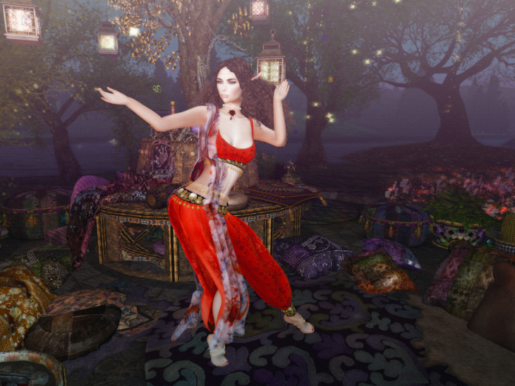 Dancing under the lantern tree BLOG - 6