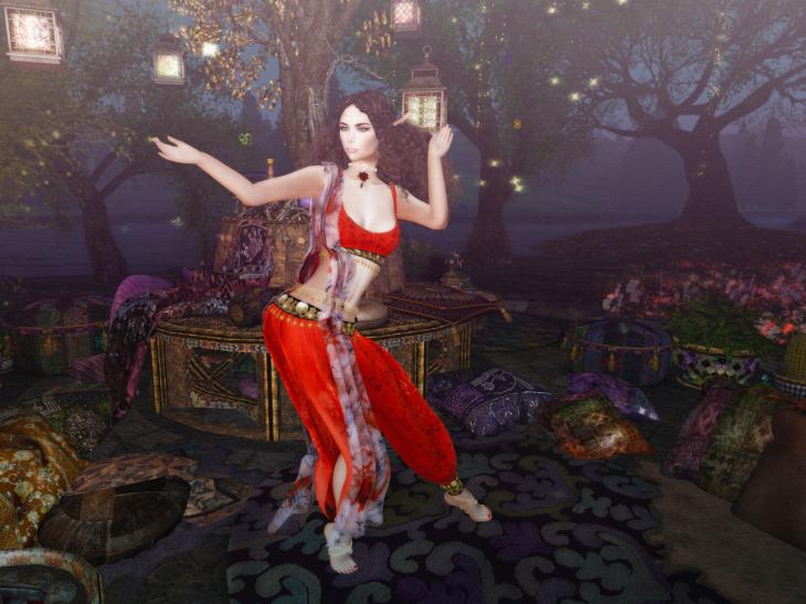 Dancing under the lantern tree BLOG - 6