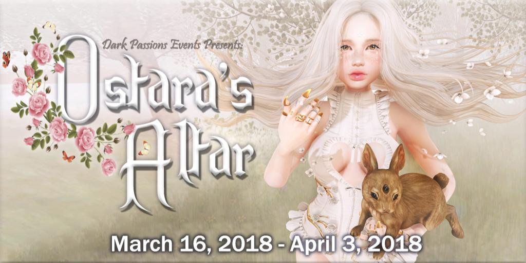 Ostara's Altar Event Poster 2018 - Header