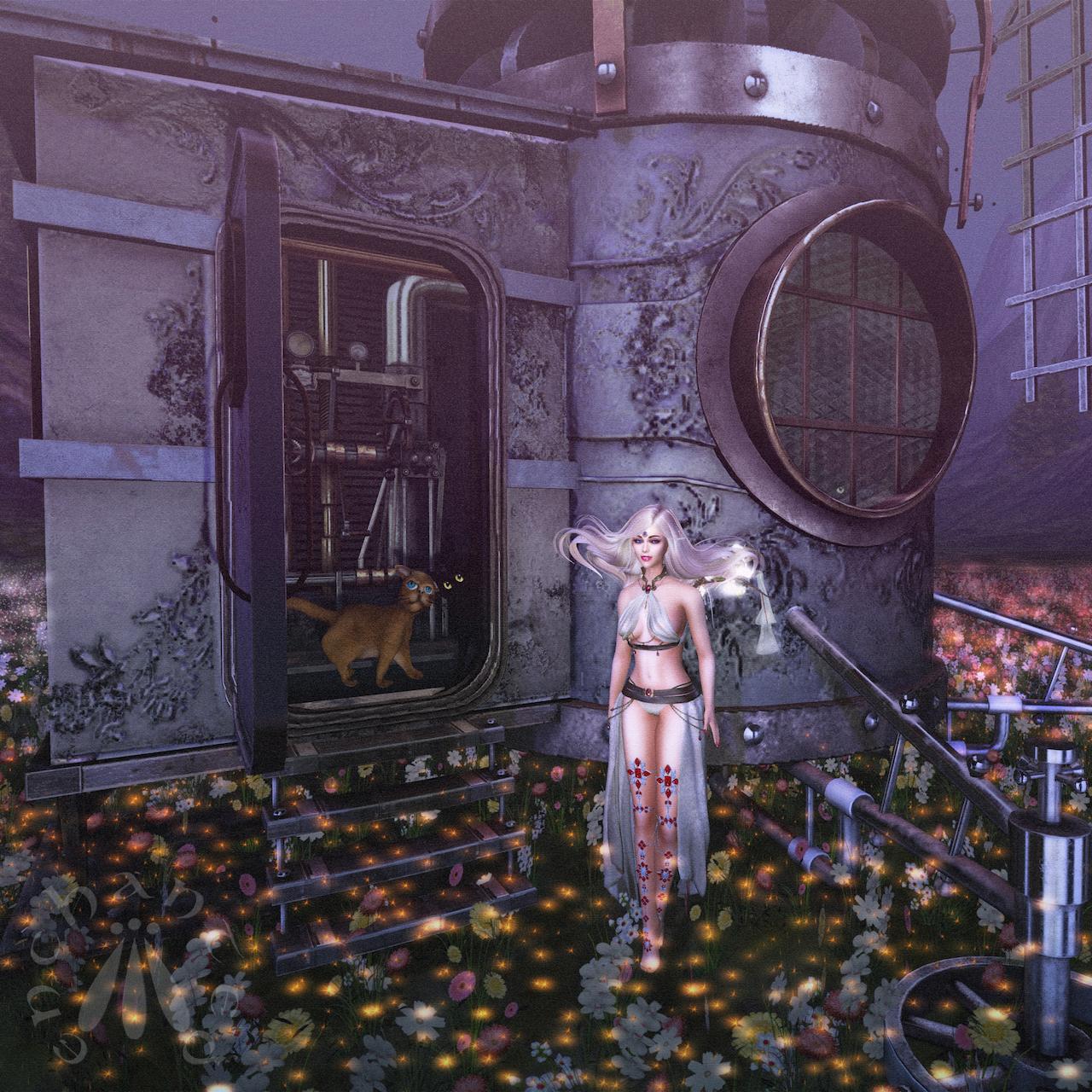 Steampunk Cats BLOG - 6