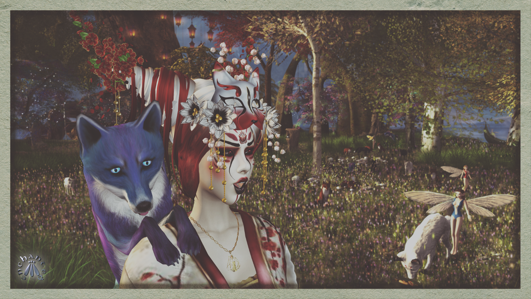 enchantment kitsune 3 edit - 13 BLOG